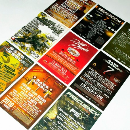 Flyer/folleto tamaño A6 (105x148 mm.)