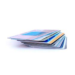 Tarjetas de plástico PVC personalizadas