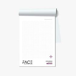 Bloc de notas tamaño A6 (105x148 mm)
