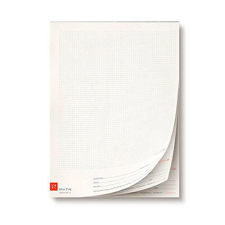 Bloc de notas tamaño A4 (210x297 mm)