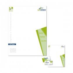 Papel para carta personalizado, tamaño A4 (21x29,7 cm.)